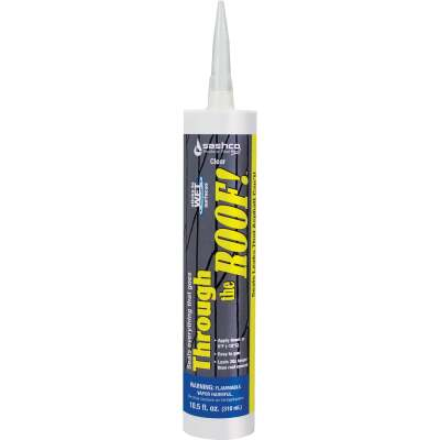 Through the Roof! 10.5 Oz. Cartridge Cement & Patching Sealant