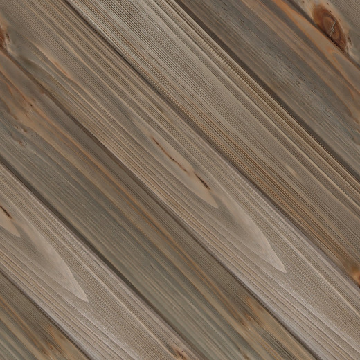Global Product Sourcing 3-1/2 In. W. x 1/4 In. Thick Solid Wood Gray Reclaimed Wood Wall Plank