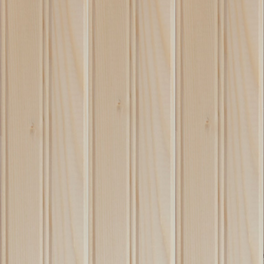 Global Product Sourcing 3-1/2 In. W. x 8 Ft. L. x 5/16 In. Thick Knotty Pine Reversible Profile Wall Plank (6-Pack)