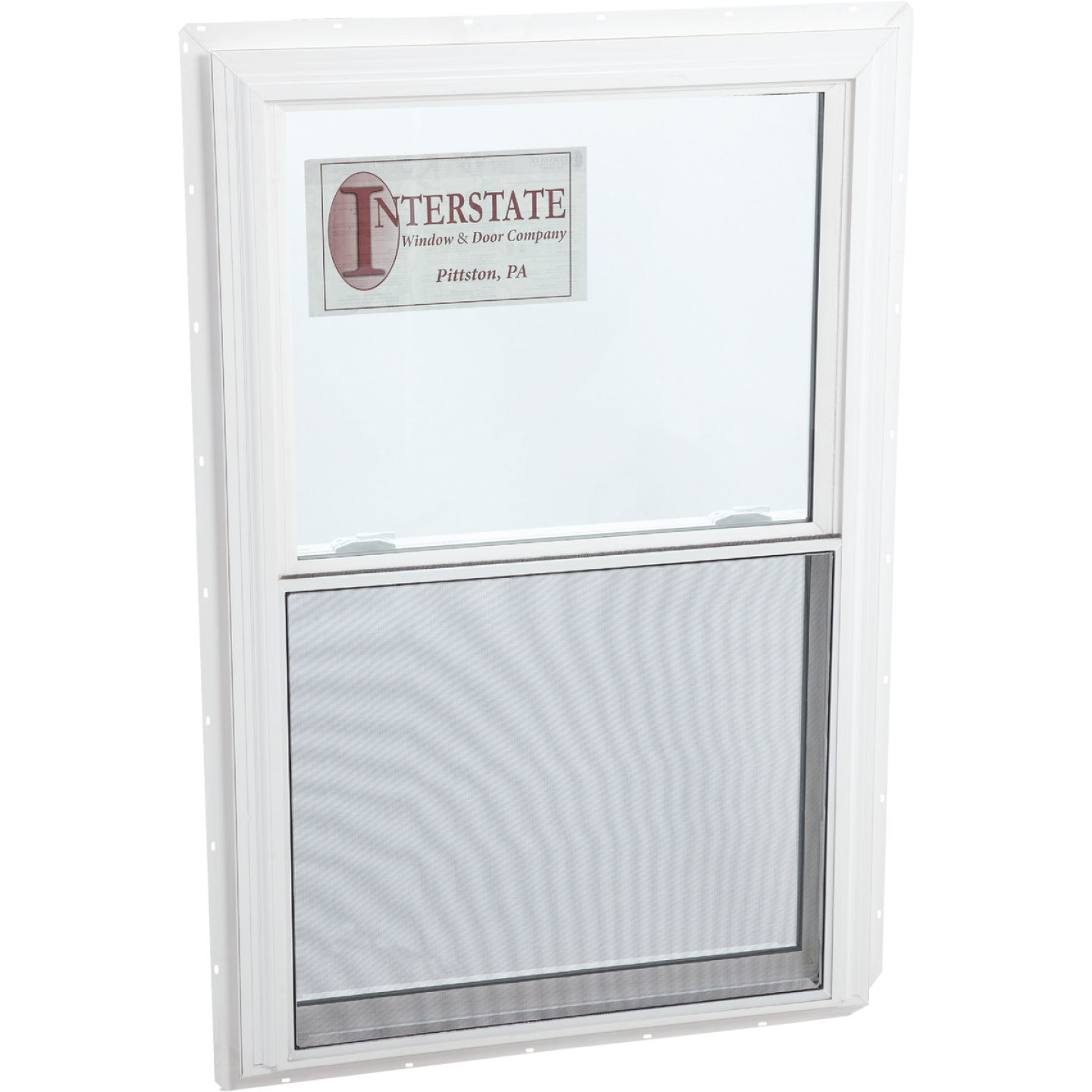 Interstate Model 5100 36 In. W. x 36 In. H. White Vinyl Double Hung Window Image 1