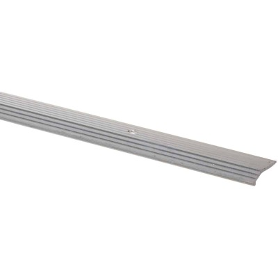 M D Building Products 3/4 In. x 3 Ft. Satin Silver Aluminum Fluted Tile Edging