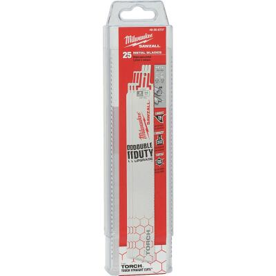Milwaukee Sawzall THE TORCH 9 In. 14 TPI Metal Demolition Reciprocating Saw Blade (25-Pack)