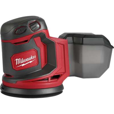 Milwaukee M18 18 Volt 5 In. Random Orbit Cordless Finish Sander (Bare Tool)