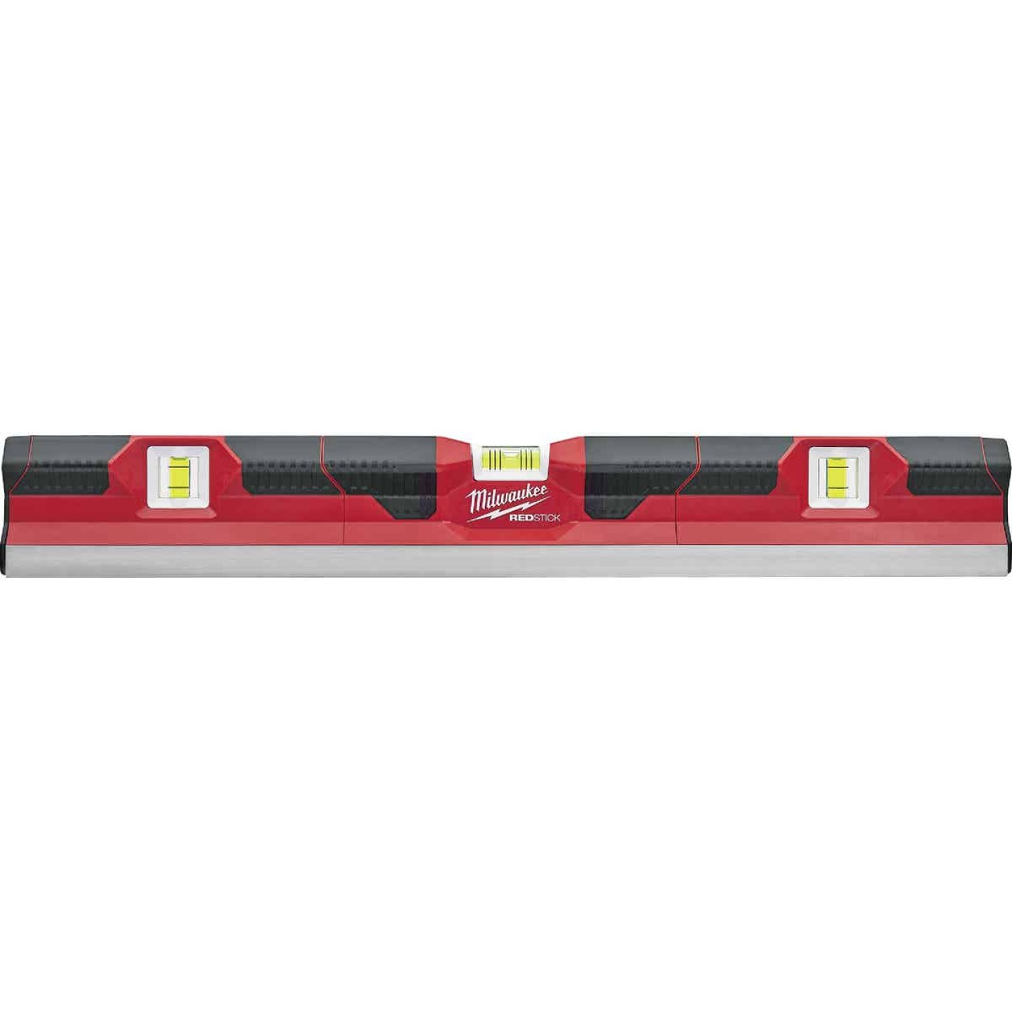 Milwaukee Redstick 24 In. Aluminum Concrete Screed Box Level Image 1
