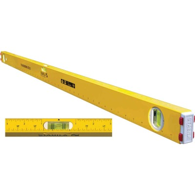 Stabila Measuring Stick 48 In. Aluminum Box Level