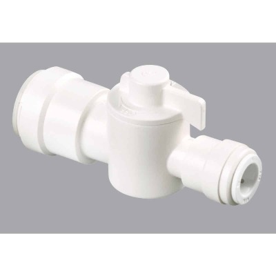 Watts 1/2 In. CTS X 3/8 In. CTS Plastic Stop Valve