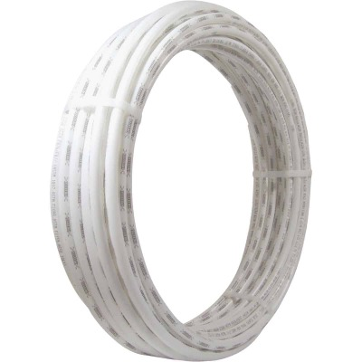 SharkBite 1/4 In. x 50 Ft. White PEX Pipe Type B Coil