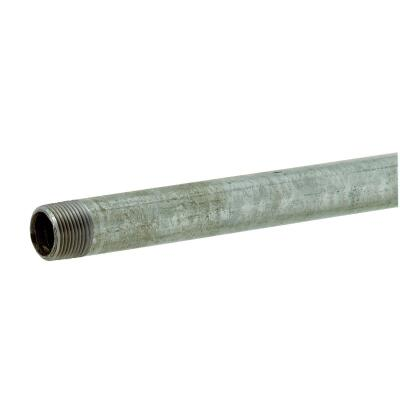 Southland 3/4 In. x 24 In. Carbon Steel Threaded Galvanized Pipe