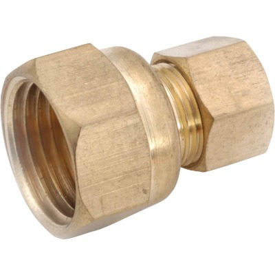 Anderson Metals 1/2 In. x 1/2 In. Brass Union Compression Adapter