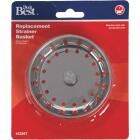 Do it Best Stainless Steel Spring Action Basket Strainer Stopper Image 2
