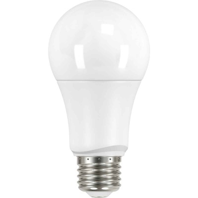 Satco 60W Equivalent Natural Light A19 Medium LED Light Bulb (4-Pack)