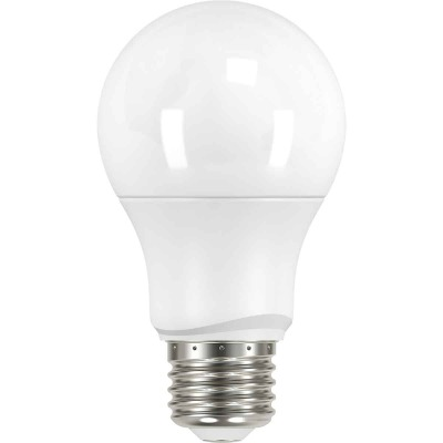 Satco 40W Equivalent Warm White A19 Medium LED Light Bulb (4-Pack)