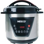 Nesco 8 Qt. Stainless Steel Multi-Function Pressure Cooker Image 1