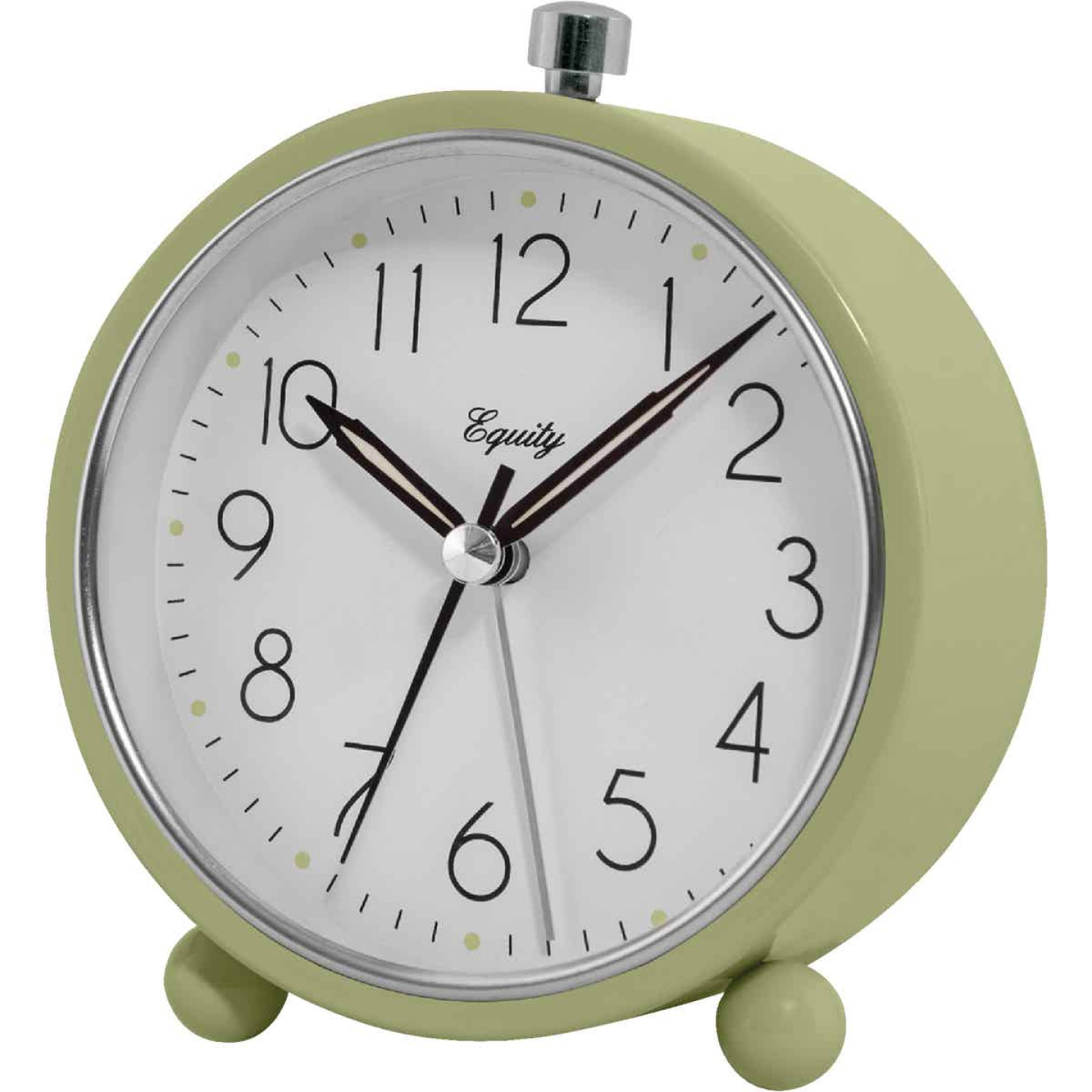 La Crosse Technology Equity Analog Quartz Battery Operated Alarm Clock Image 1
