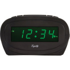 La Crosse Technology Equity Green LED Electric Alarm Clock Image 1