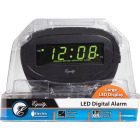 La Crosse Technology Equity Green LED Electric Alarm Clock Image 2