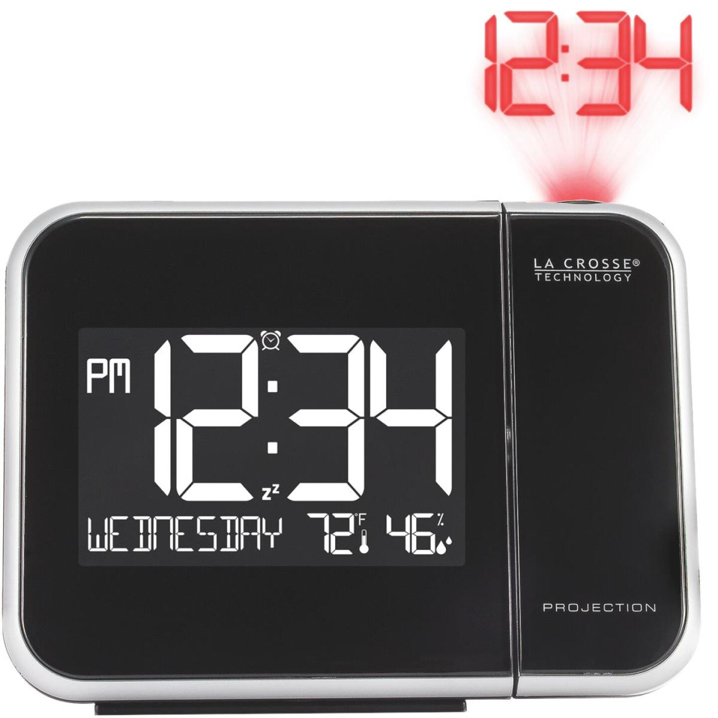 La Crosse Technology Projection Electric Alarm Clock Image 1