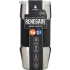 Manna Renegade 20 Oz. Onyx Black Insulated Tumbler Image 1