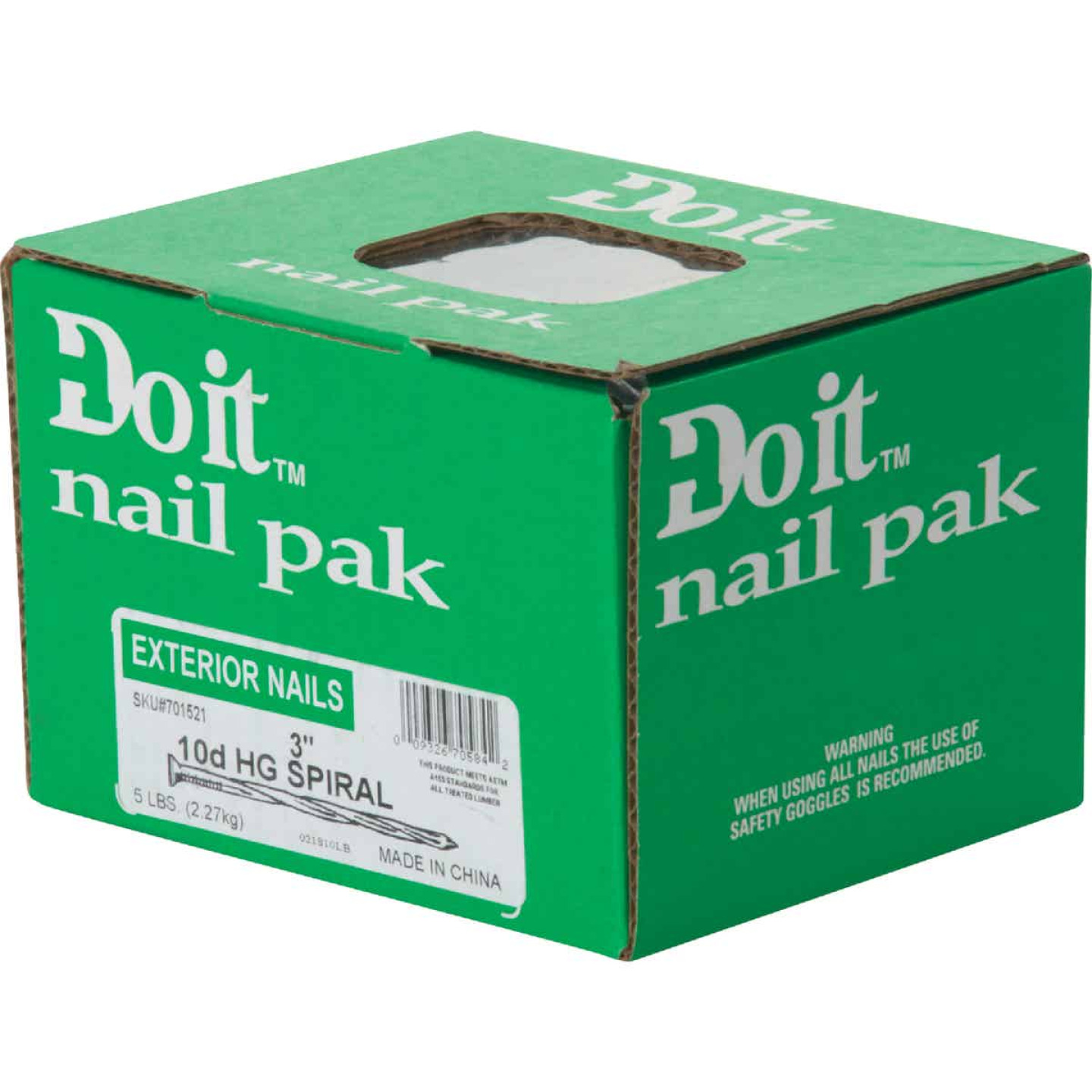 Do it 10d x 3 In. 10 ga Hot Galvanized Deck Nails (380 Ct., 5  Lb.) Image 2