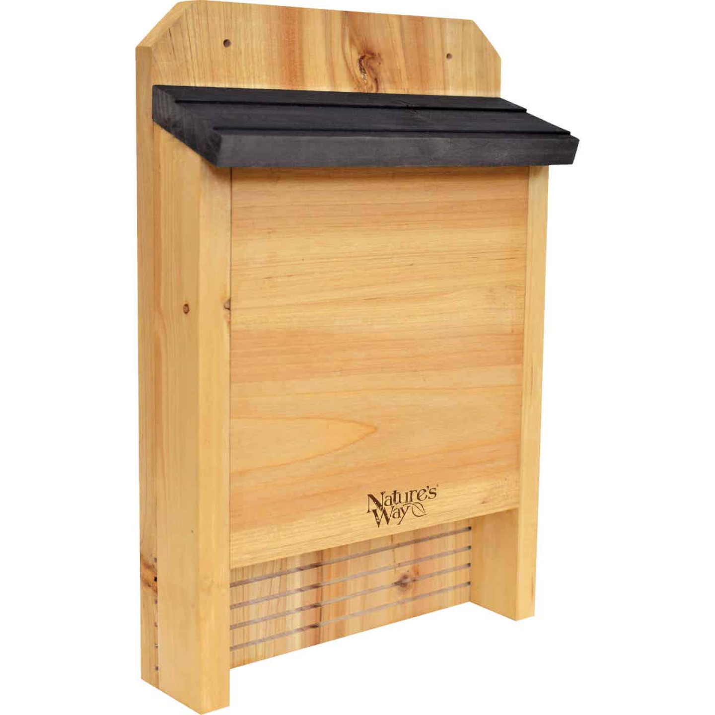 Nature's Way 10 In. W. x 15 In. H. x 3.5 In. D. Single Chamber Cedar Bat House Image 1