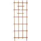 Panacea 72 In. Brown Wood Ladder Trellis Image 1
