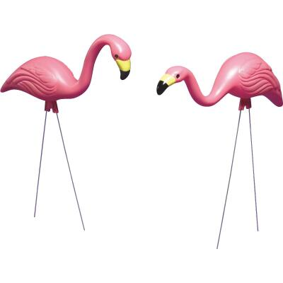 Bloem Pink Flamingo Lawn Ornament (2-Pack)