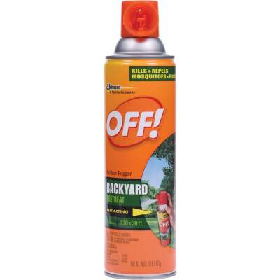 OFF! Backyard 16 Oz. Outdoor Mosquito Fogger