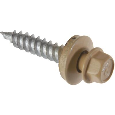 Do it #9 x 1-1/2 In. Hex Washered Tan Framing Screw (250 Ct.)