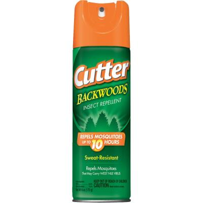 Cutter Backwoods 6 Oz. Insect Repellent Aerosol Spray