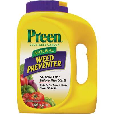 Preen 5 Lb. Ready To Use Granules Natural Vegetable Garden Weed Preventer