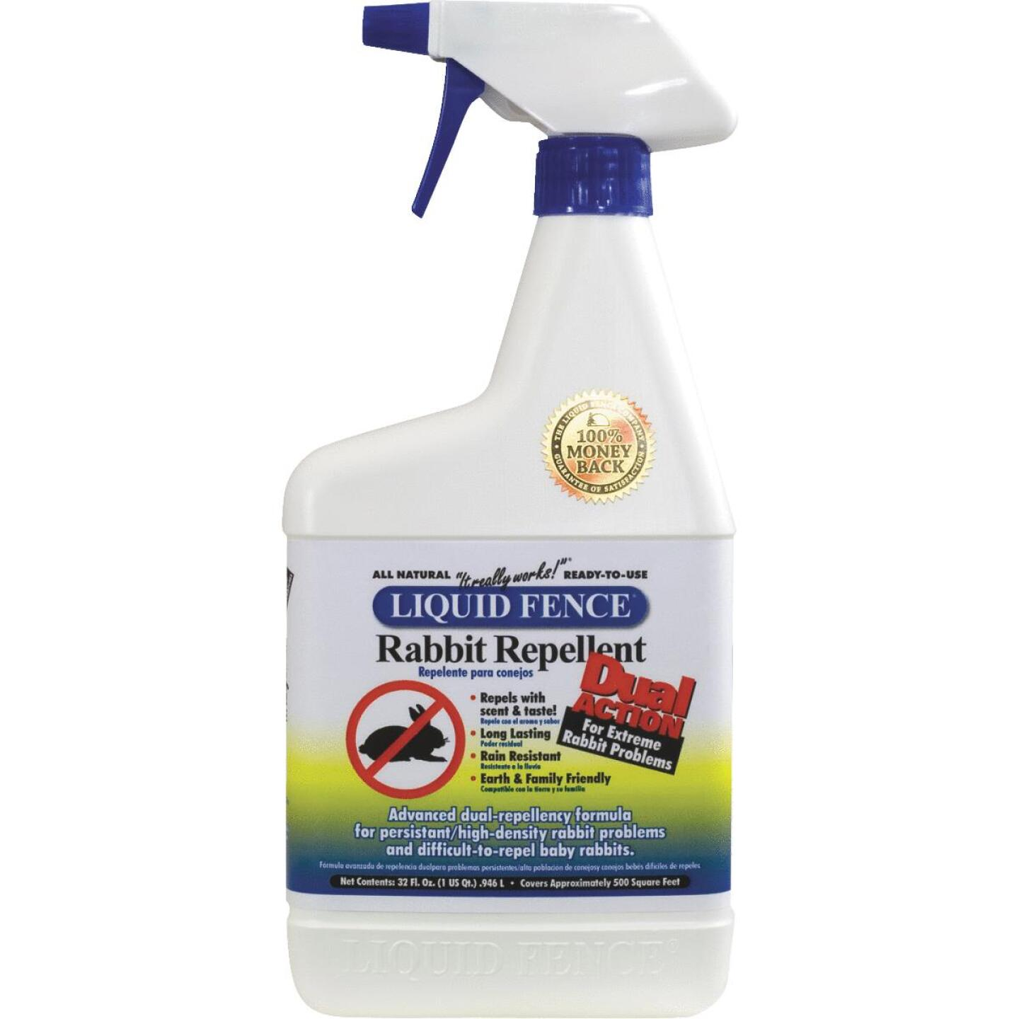 Liquid Fence 32 Oz. Ready To Use Dual Action Rabbit Repellent Image 1