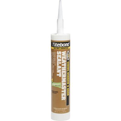 Titebond WeatherMaster 10 Oz. Polymer Sealant, 43991 Crystal Clear