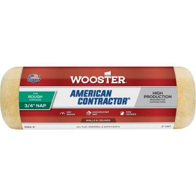 Wooster American Contractor 9 In. x 3/4 In. Knit Fabric Roller Cover