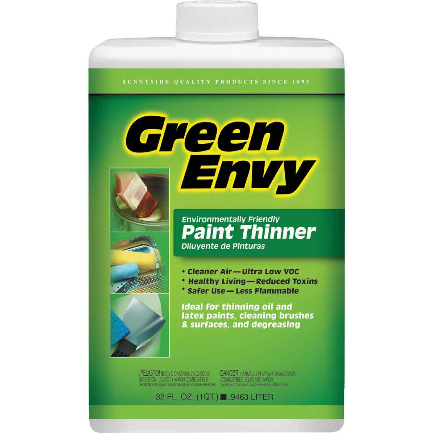 Sunnyside Green Envy 1 Quart Paint Thinner Image 1