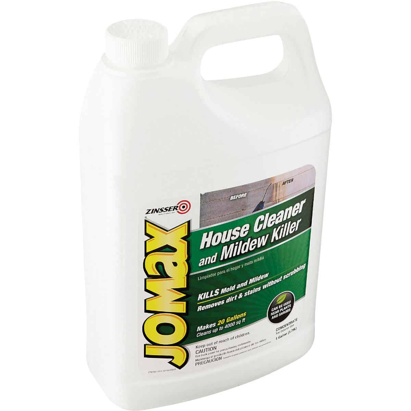 Zinsser Jomax House Cleaner and Mildew Killer, 1 Gal. Image 3