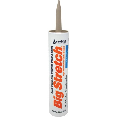 Sashco Big Stretch 10.5 Oz. Slate Gray Acrylic Elastomeric Caulk