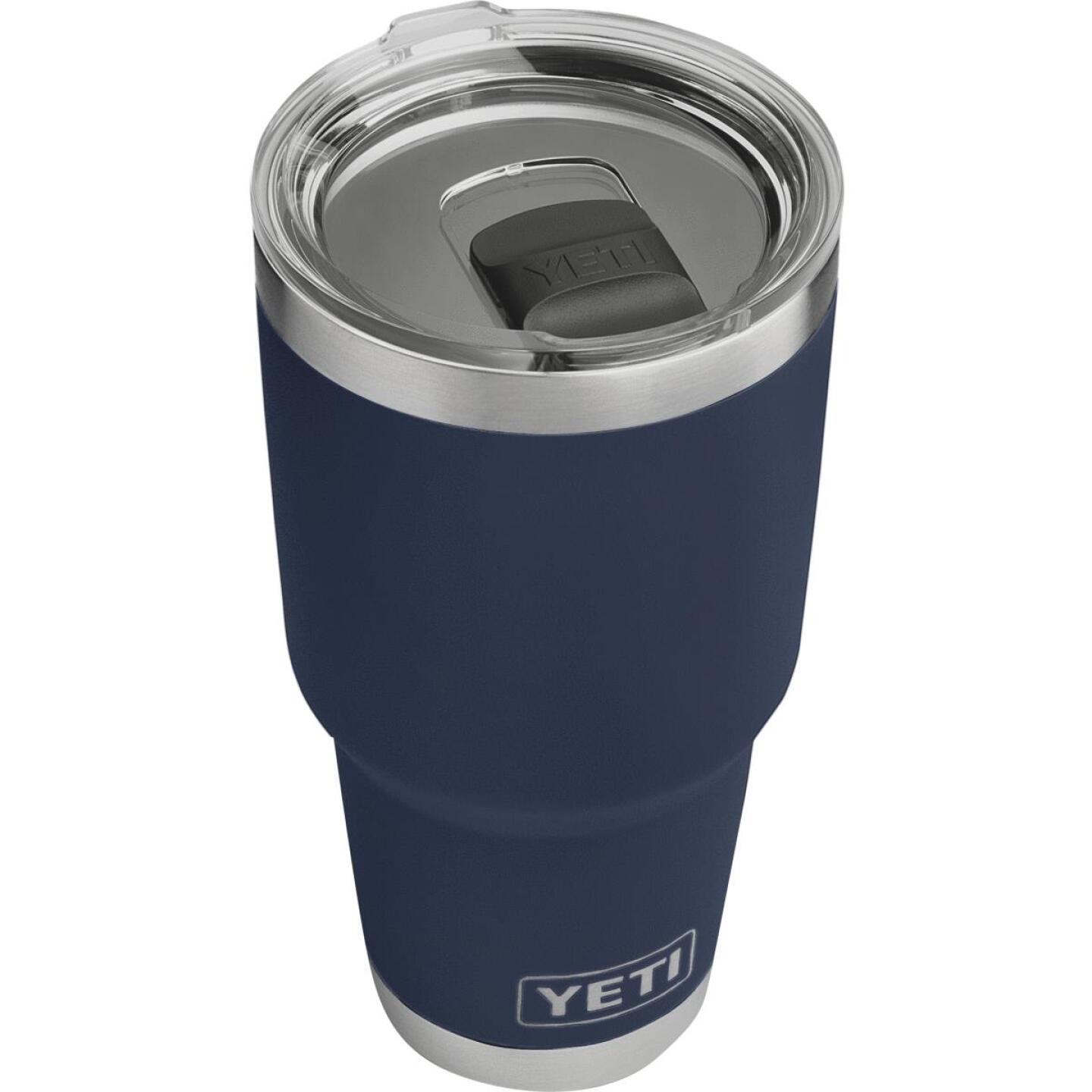 Yeti Rambler 30 Oz. Navy Blue Stainless Steel Insulated Tumbler with MagSlider Lid Image 1