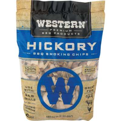 Western 2 Lb. Hickory Wood Smoking Chips
