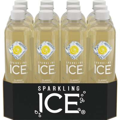 Talking Rain Sparkling Ice 17 Oz. Water, Classic Lemonade